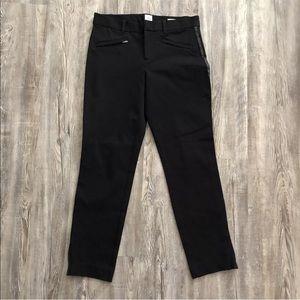 Gap Sz 4 Pants Skinny Ankle Stretch Black